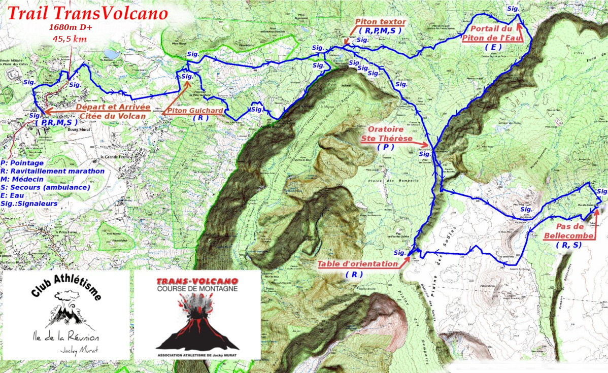 Parcours Transvolcano