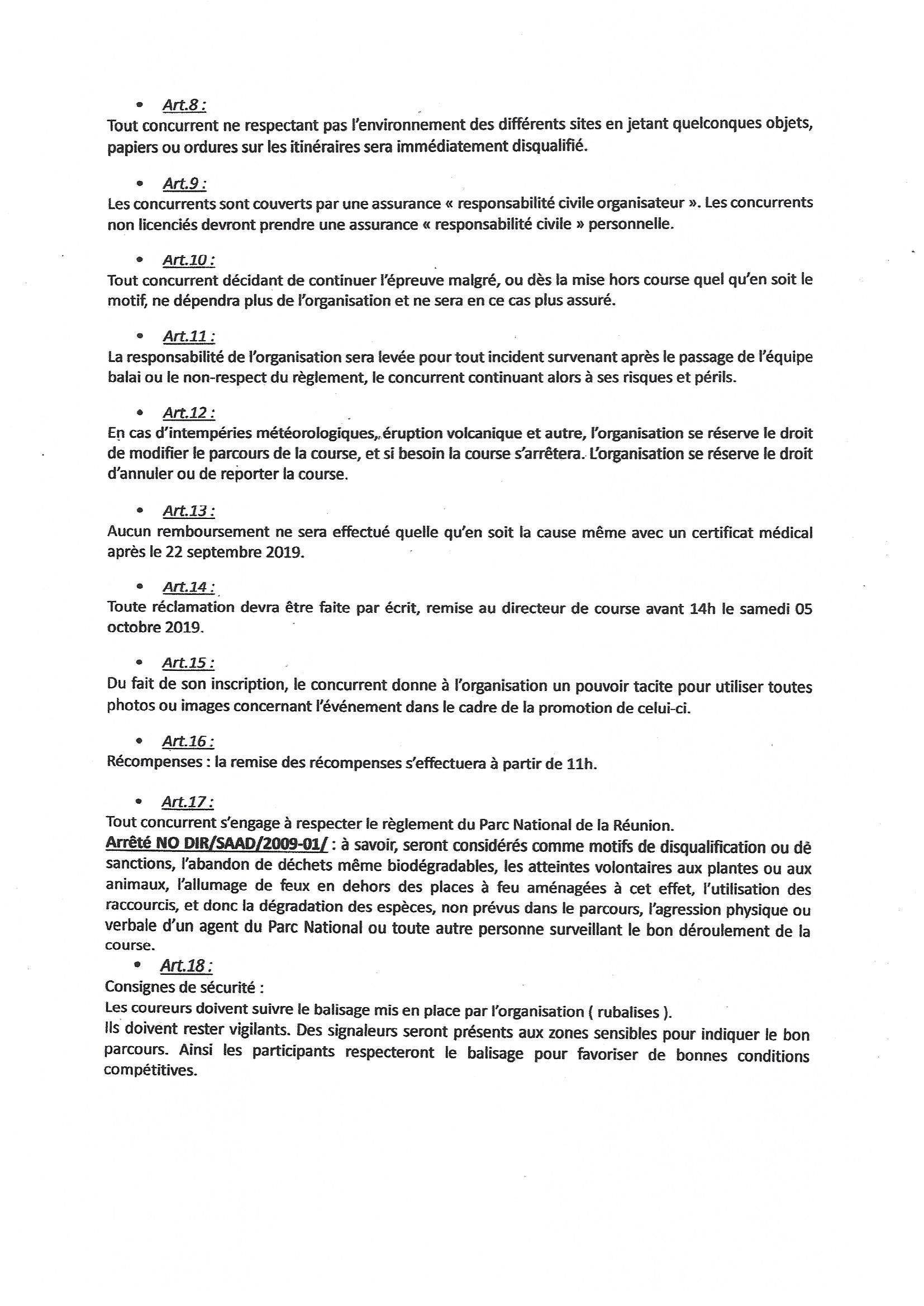 Règlement 2